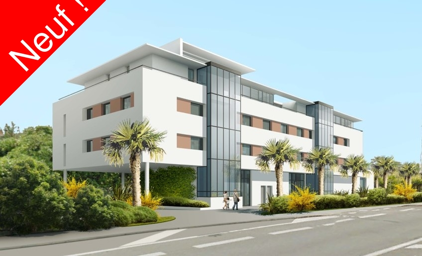 Vente d 39 appartement sanary sanary immo gest for Location garage six fours